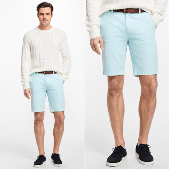 55c8225d90 Brooks Brothers Shorts | Nwt Mint Baby Blue Chino | Poshmark